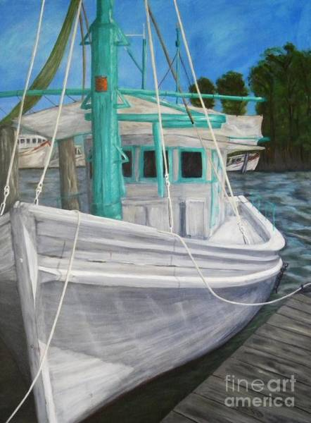 Gulf Shores Alabama Painting - Lucy F by JoAnn Wheeler