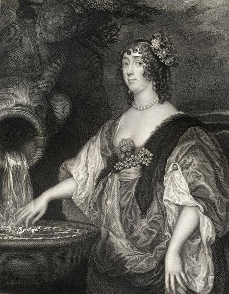 Wall Art - Drawing - Lucy Hay Nee Percy Countess Of by Vintage Design Pics