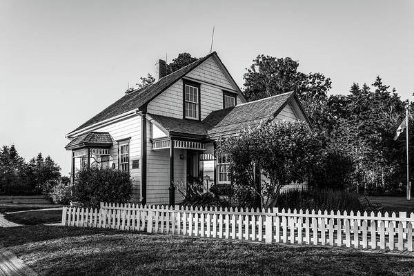 Photograph - Lucy Maud Montgomery Homesite by Chris Bordeleau