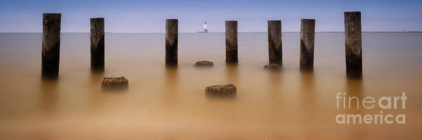 Wall Art - Photograph - Ludington Breakwater Pano by Todd Bielby