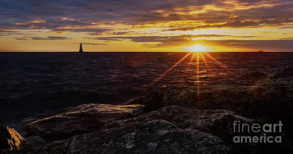 Wall Art - Photograph - Ludington Sunset by Todd Bielby