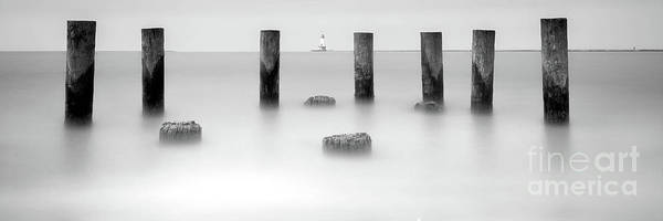 Wall Art - Photograph - Ludinton And An Old Dock by Todd Bielby