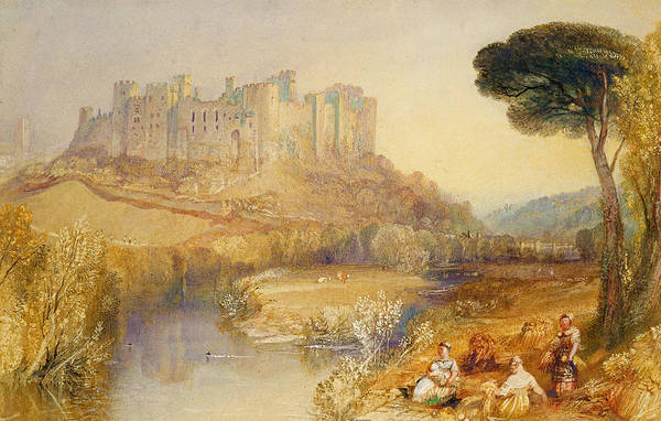 Turner Painting - Ludlow Castle  by Joseph Mallord William Turner