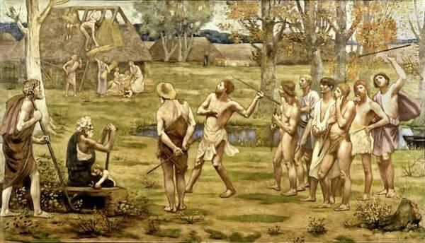 Painting - Ludus Pro Patria by Pierre Puvis de Chavannes