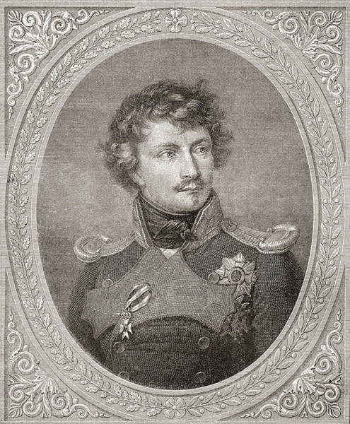 Wall Art - Drawing - Ludwig I, 1786 by Vintage Design Pics