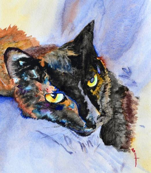 Lula Wall Art - Painting - Lula by Beverley Harper Tinsley