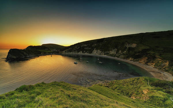 Photograph - Lulworth Sunset #2 by Framing Places