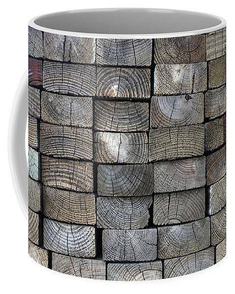 Coffee Mug Photograph - Lumber Coffee Mug by Jane Linders