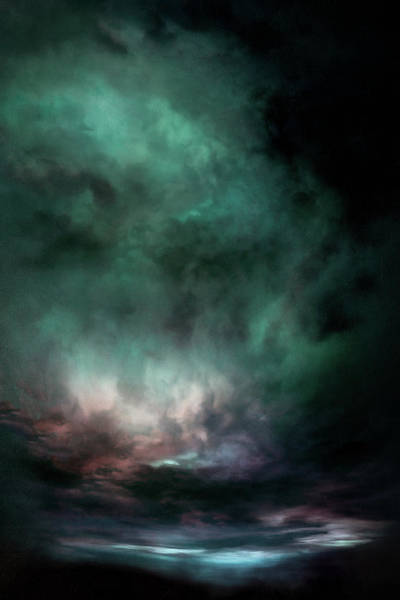 Wall Art - Painting - Lumen Sky by Lonnie Christopher