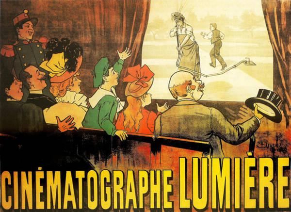 Cinematography Photograph - Lumiere Cinematographe by Georgia Fowler