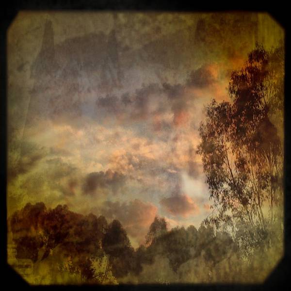 Iphoneography Wall Art - Photograph - Luminosa by AlyZen Moonshadow