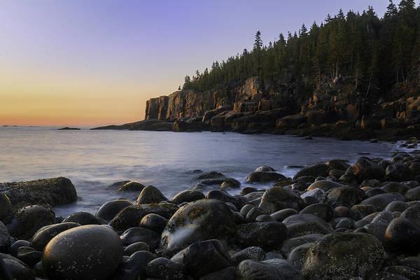 Photograph - Luminous Light On Otter Cliffs by T-S Fine Art Landscape Photography