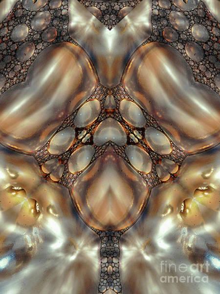 Mixed Media - Luminous Pearls by Jolanta Anna Karolska