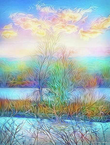 Digital Art - Luminous Sunrise by Joel Bruce Wallach