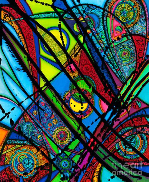 Drawing - Luminus Aka Light  by Joey Gonzalez