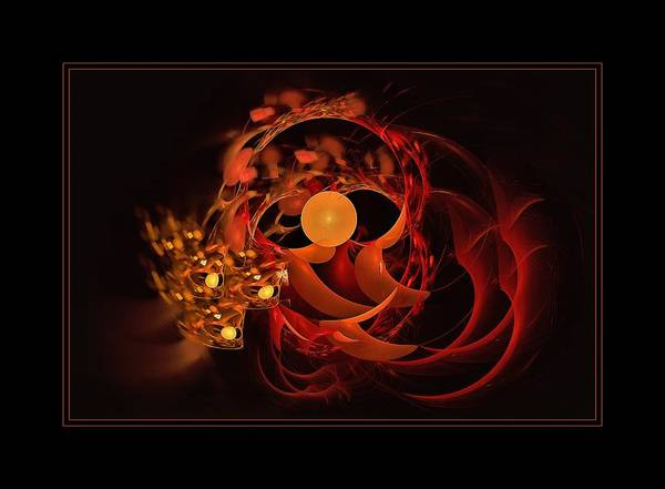 Digital Art - Luna Nest Framed by Doug Morgan