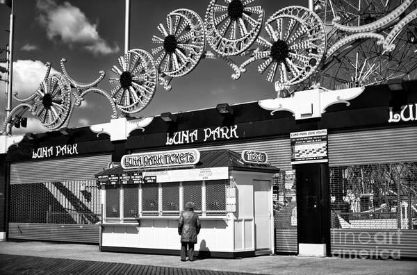 Photograph - Luna Park Hours by John Rizzuto