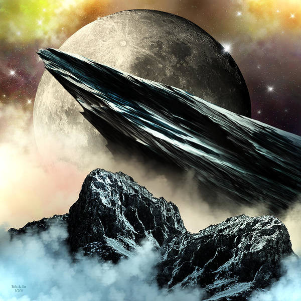 Digital Art - Lunar Dreams by Artful Oasis