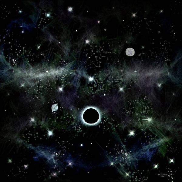 Digital Art - Lunar Eclipse by Artful Oasis