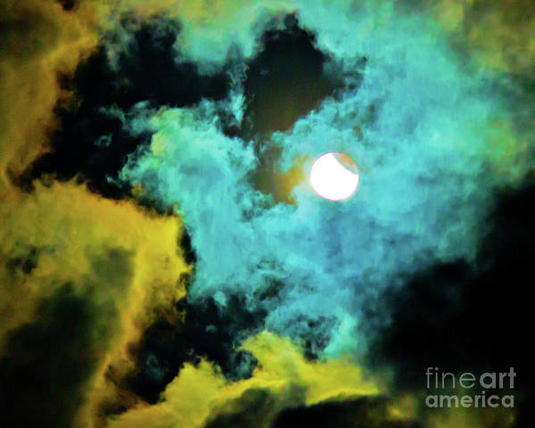 Wall Art - Photograph - Lunar Eclipse  by Michael Tidwell