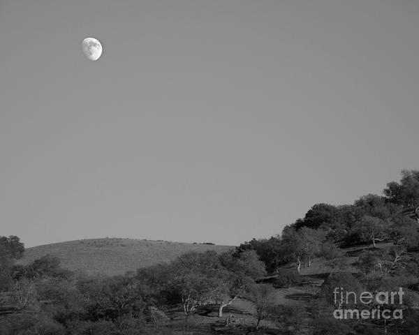 Photograph - Lunar Hilltop Photograph by Kristen Fox