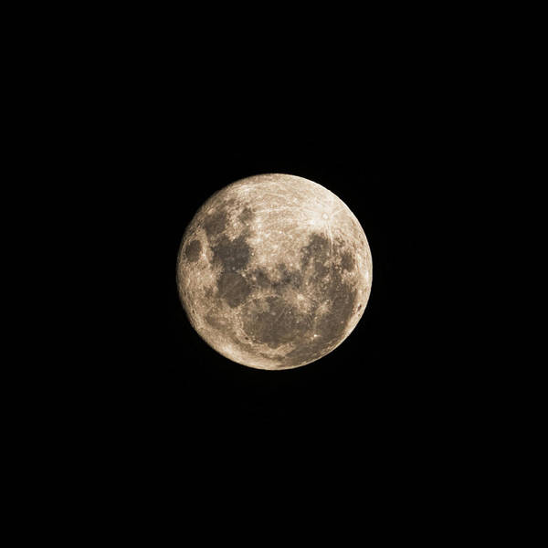 Perigee Moon Photograph - Lunar Perigee by Andrew Paranavitana