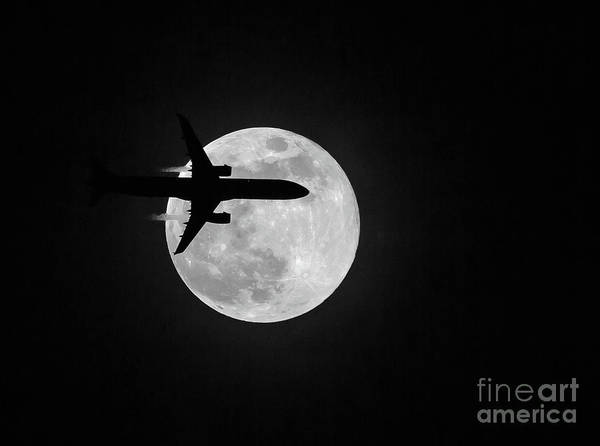 Photograph - Lunar Silhouette by Kevin McCarthy