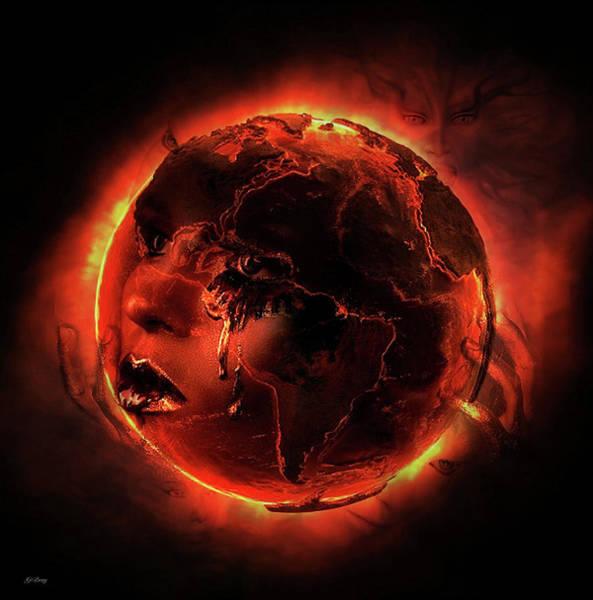 Eclipse Mixed Media - Lunar Sisterhood by G Berry