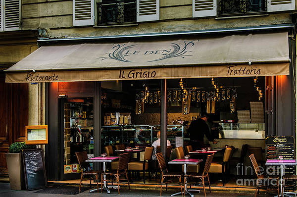 Photograph - Lunch In Paris by Paul Warburton