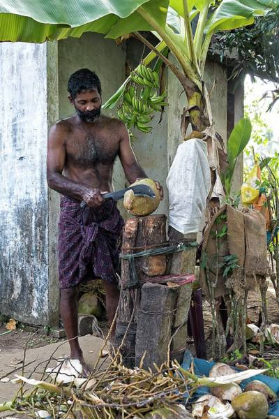 Kerala Photograph - Lunch by Marion Galt
