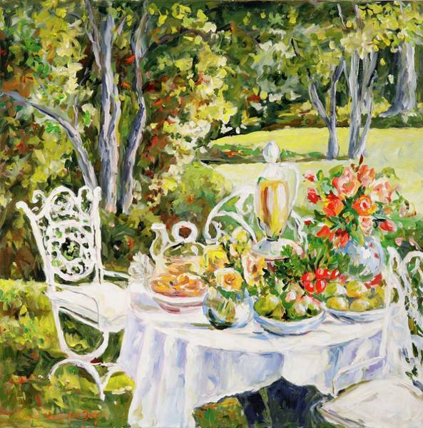 Painting - Luncheon by Ingrid Dohm