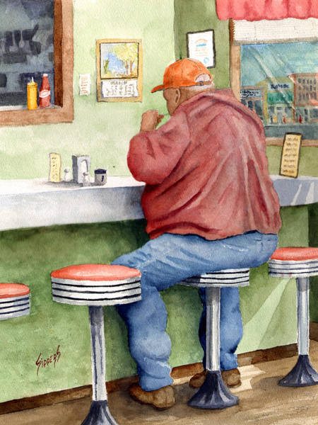 Painting - Lunchtime by Sam Sidders