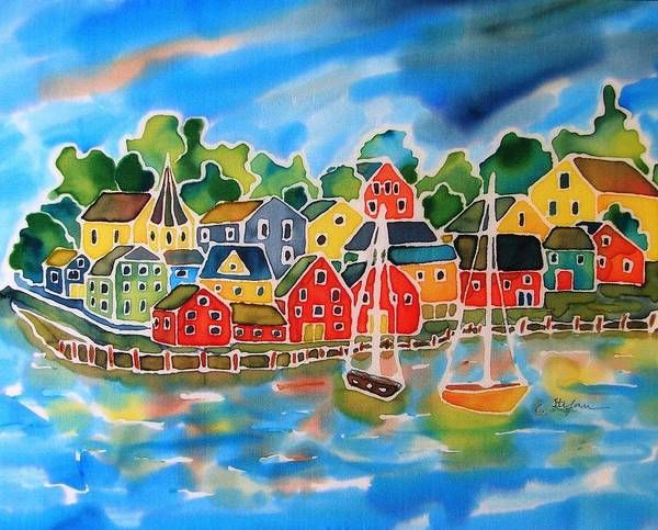 Painting - Lunenburg - Nova Scotia by Cristina Stefan