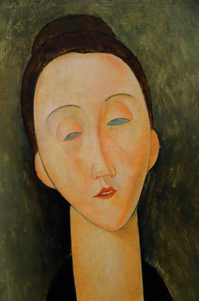 Painting - Lunia Czechwska Amedeo Modigliani 1918 by Movie Poster Prints