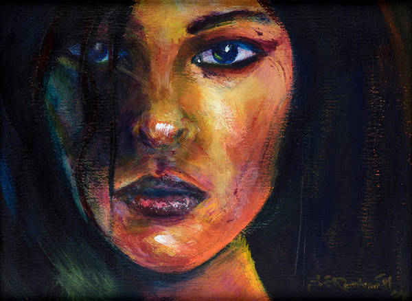Painting - Lupina by Jason Reinhardt