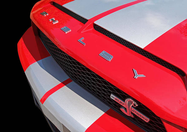 Photograph - Lurking Cobra - Shelby Gt500 Kr by Gill Billington