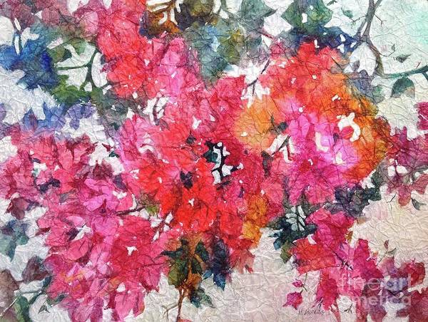 Painting - Luscious Bougainvillea by Michelle Abrams