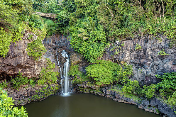 Photograph - Lush Oheo Gulch Maui by Pierre Leclerc Photography