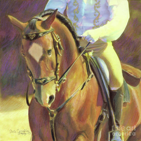 Horsemanship Painting - Lusitano 1 by Dale Tremblay