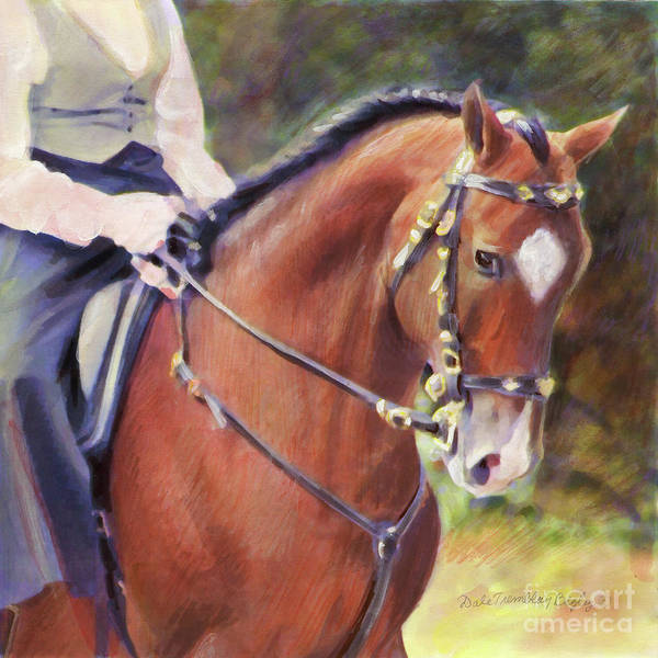 Horsemanship Painting - Lusitano 2 by Dale Tremblay