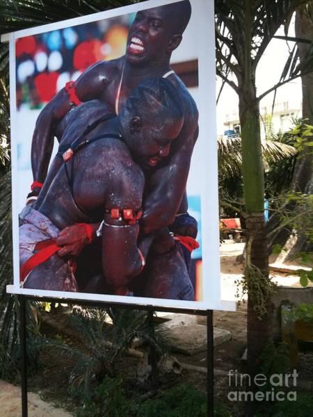Dakar Photograph - Lutte Traditionnelle by Fania Simon