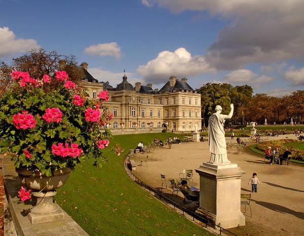 Photograph - Luxembourg Palace by Mick Burkey