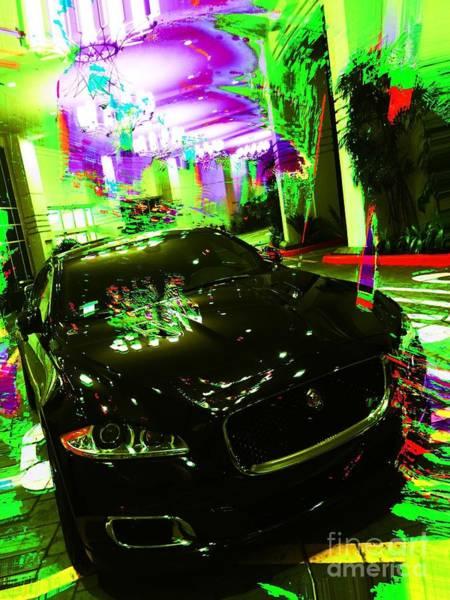 Photograph - Jaguar F-type Sports Coupe by Jenny Revitz Soper