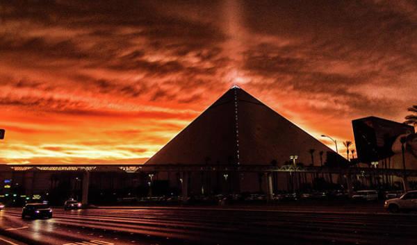 Photograph - Luxor Las Vegas by Michael Rogers