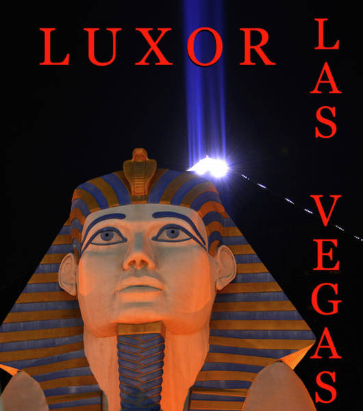 Wall Art - Photograph - Luxor Las Vegas Poster B by David Lee Thompson