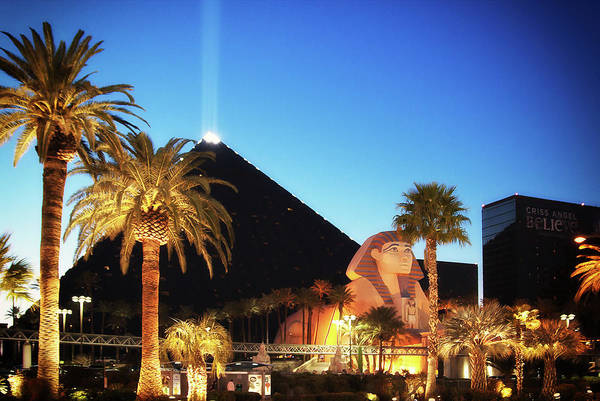 Photograph - Luxor Pyramid And Sphinx Of Giza, Las Vegas by Tatiana Travelways