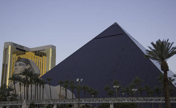 Wall Art - Photograph - Luxor Pyramid Las Vegas by Keith Mucha