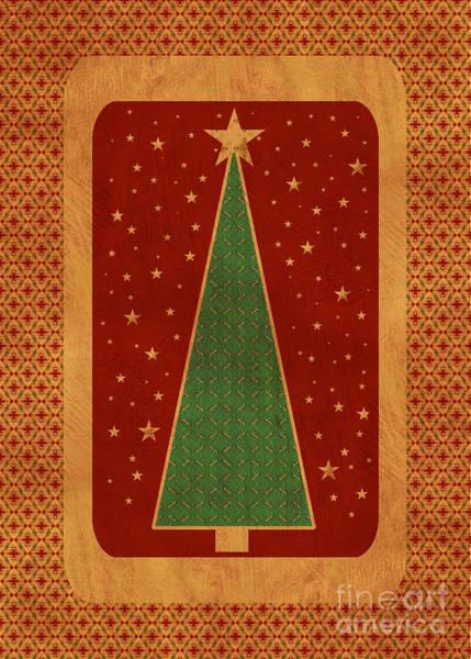Wall Art - Digital Art - Luxurious Christmas Card by Aimelle