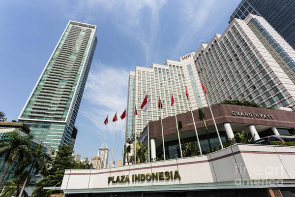 Photograph - Luxury Hotel In Jakarta, Indonesia Capital City.  by Didier Marti