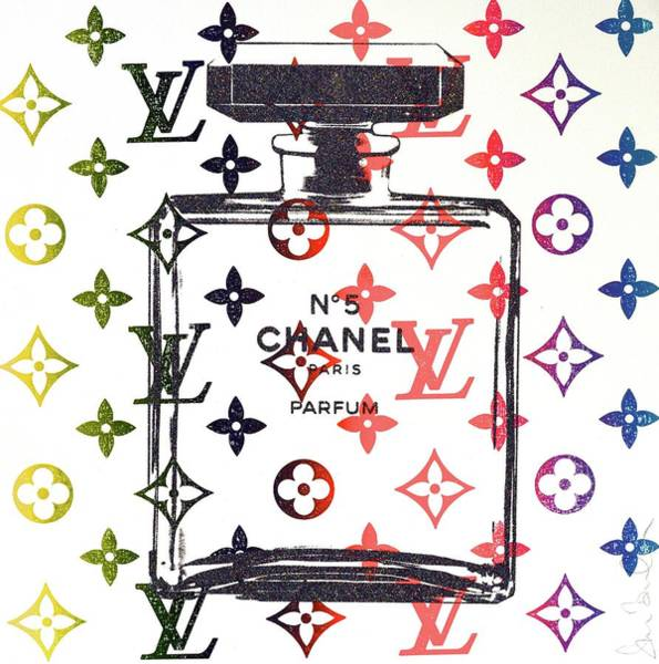 Chanel Painting - Lv Sunrise by Shane Bowden